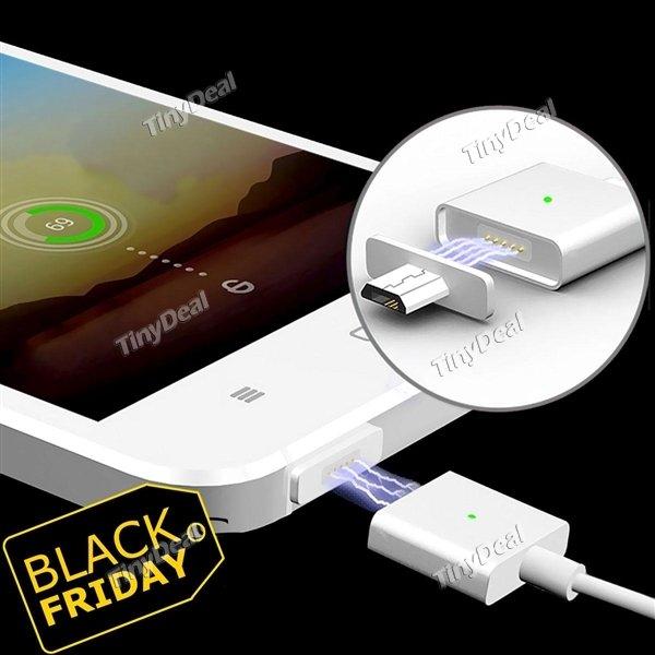 [@Tinydeal CN] magnetisches Ladekabel für Micro-USB 1m 18% unter Bestpreis @Black Friday