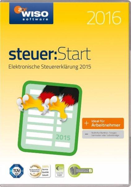 [nbb] Buhl Data WISO Steuer-Start 2016 als Download Version (nur bei Zahlung mit MasterCard) für 6,50€ (mit Payback auch 6€ ) @Black Friday