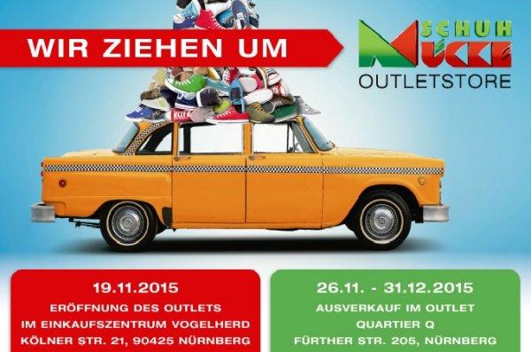 [LOKAL] Nürnberg - 40% bei Schuh Mücke (ehem. Quelle) Outlet - auch auf reduzierte Ware.
