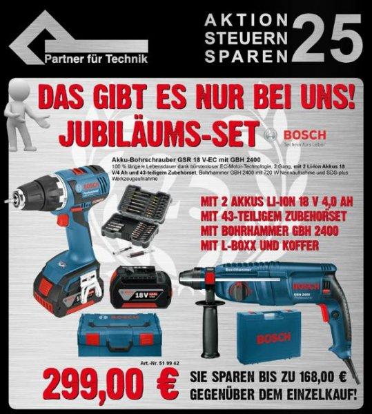 Bosch GSR 18 V-EC + Bohrhammer GBH 2400 + Zubehör [lokal Hannover]