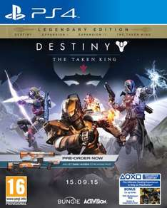 PS4 Destiny: König der Besessenen - Legendary Edition @coolshop