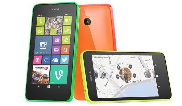 @Black Friday - (Microsoft Store) Nokia Lumia 630  - 79€ - Verschiedene Farben -