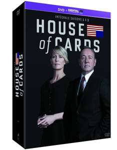 [Amazon.FR] House of Cards Staffel 1 bis 3 (Blu-ray oder DVD) - EUR 24,06