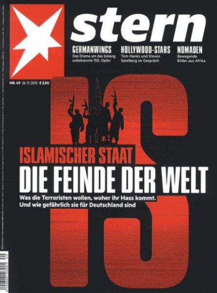 """Jahresabo """"stern"""" mit 12 Monaten Laufzeit = 53 Ausgaben für 19,70 statt 218€ @ Zeitschriften-Club"""