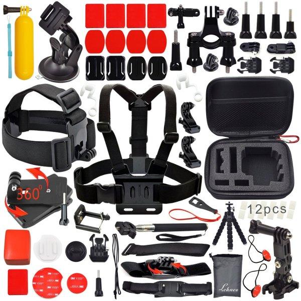 Riesiges Zubehör-Paket für GoPro, SJ4000, SJ5000 und andere Actioncams für 19,99€ (Amazon Prime)