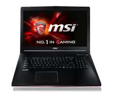 "MSI GP72-2QDi581FD Leopard Gaming Notebook 17.3"" Full-HD, i5-4210H, 8GB RAM, 1TB HDD, nVidia Geforce 940M (2GB), WLAN ac, Aluminium-Look für 661,64€ bei NBB Black Friday"