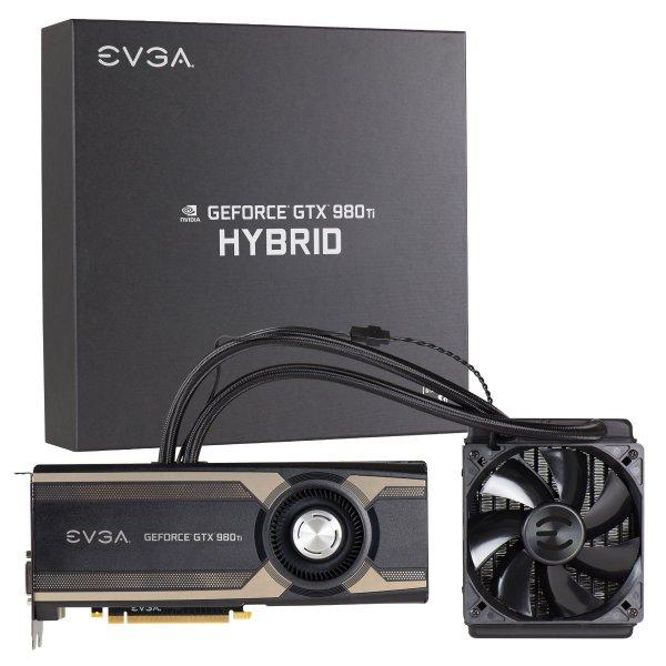 [Alternate] EVGA GeForce GTX 980 Ti HYBRID Grafikkarte für 699,- € (3% Qipu Cashback möglich)