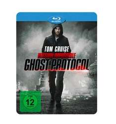 Mission: Impossible - Phantom Protokoll Steelbook [Blu-ray + DVD] für 9€ bei Media Markt Black Friday