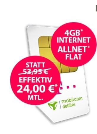 *Knaller* Telekom Magenta Mobil M von mobilcom-debitel für eff. 20 € / Monat (Allnet Flat | SMS Flat | 2 GB bei 150 Mbit/s LTE) *UPDATE*