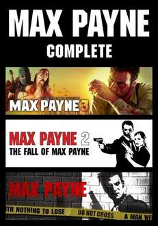 Max Payne 1 - 3 (PC) für 7,59€ bei funstockdigital.co.uk