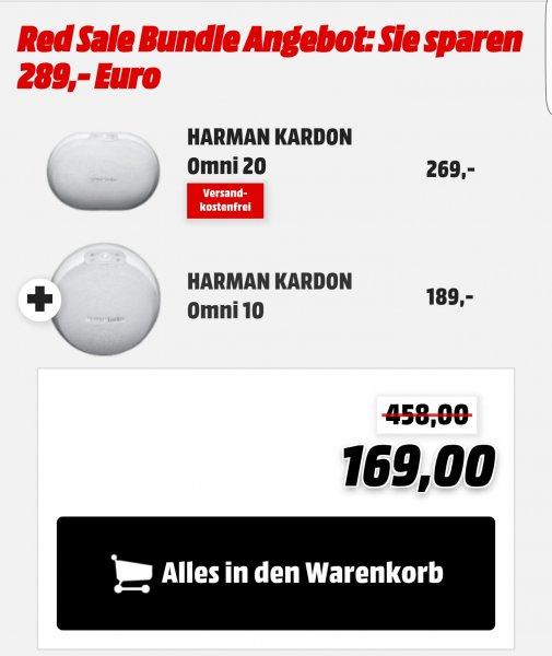 [mediamarkt.de] Harman Kardon Omni 20 + Omni 10 weiß 169€ @Black Friday