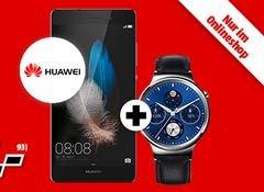 Smartphone + Smartwatch + Vertrag extrem günstig - Huawei Watch Classic + Huawei P8 lite im m-d Vodafone Smart Surf (50|50|1 GB) für 19,99 € / Monat und 29 € Zuzahlung *Black Friday@MM*
