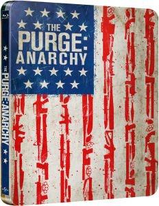 The Purge: Anarchy Steelbook (Blu-ray) für 8,65 € bei Zavvi.de