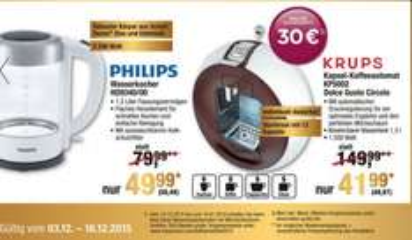 Dolce Gusto Circolo 49,97€  mit 30€ Onlinegutschein METRO ab 3.12 bis 16.12