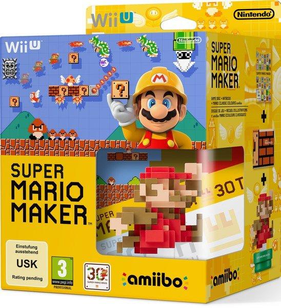 [Saturn.de] Mario Maker inkl. amiibo Wii U 34,99 oder durch 3für2 zu je 26,66 @Black Friday