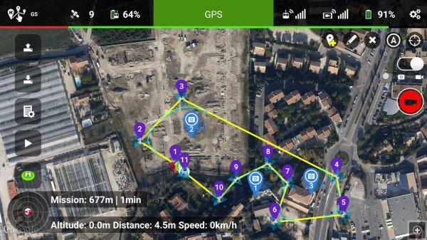 Litchi App (Android, für DJI Phantom/Inspire Multikopter) für 10,34€