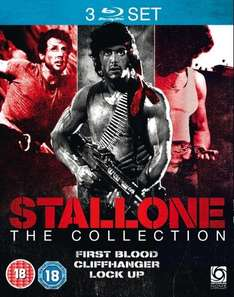 Stallone Triple (Rambo:First Blood, Cliffhanger, Lock Up) Blu-Ray (zavvi.de)