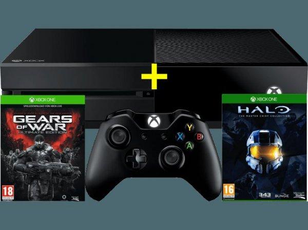 [mediamarkt.at] Xbox One 500GB inkl. Halo MC + GoW  Ultimate, Versand nach DE möglich @Black Friday