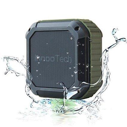 Spritzwassergeschützter Bluetooth Lautsprecher nur 12,99€ mit Prime sonst 15,99€, geeignet für Outdoor/ Dusche/Festival Lautsprecher mit Telefonfunktion