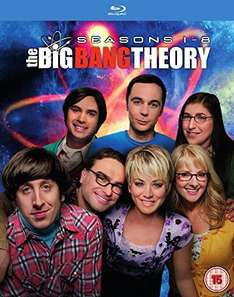 [Amazon UK] The Big Bang Theory Season 1-8 (OV) Blu-ray für 48 € - DVD für 41 €