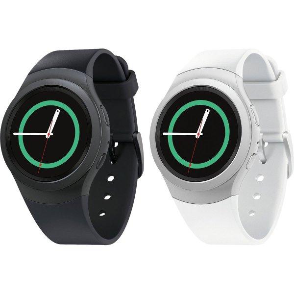Samsung Gear S2 Smartwatch for Android Phones - in schwarz/grau und weiß/silber