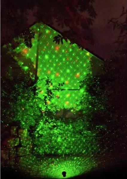 Netto-Online - Laser Lichtprojektor GS-200RG move für Weihnachtsbeleuchtung