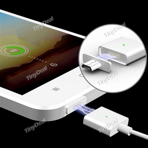 [tinydeal.com] Magnetisches Micro USB Kabel 2 Versionen Neuer Tiefpreis jetzt auch für Smartphones mit Hülle