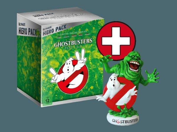 Ghostbusters 1-2, Underworld 1-4 und Spider-man 1-3 * Hero Packs für nur 29,99€ @ MediaMarkt.de bei Abholung