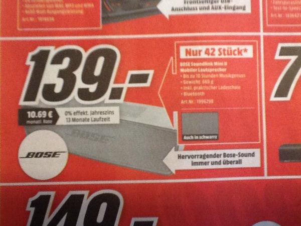 [MM Kaiserslautern] - Bose Soundlink Mini II für 139€