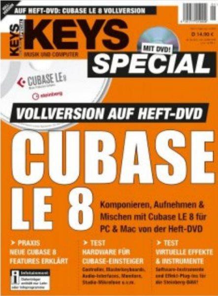 [Lokal beim Zeitschriftenhändler + Online] Cubase Elements 8 für 64,89 €