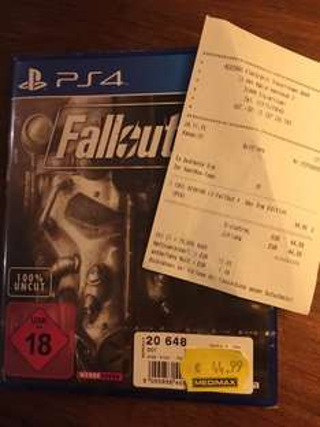 Fallout 4 (PS4) für 44,99 € Medi Max Sigmaringen