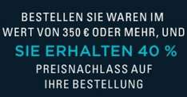 Ab 350€ Bestellwert - 40% Preisnachlass bei Ralph Lauren (Online)