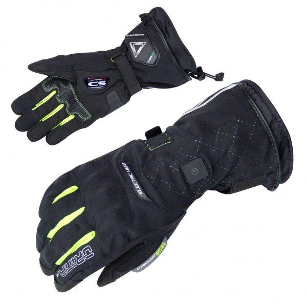 Orina Tesla beheizbare Motorrad Handschuhe inklusive 2 Akkus & Ladegerät @FC-Moto