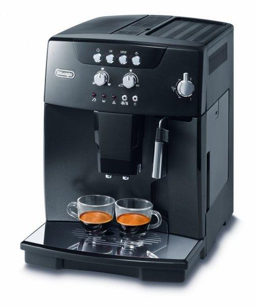 [Saturn] DELONGHI ESAM 4.110 B, Kaffeevollautomat, 1.8 Liter Wassertank, 15 bar, Silence-Kegelmahlwerk, Schwarz