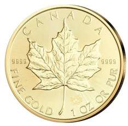 EBAY - Maple Leaf 1oz - Gold aus Canada - Kanada 1 Unze aus 2015
