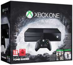[Amazon.fr] Xbox One 1TB + Rise of the Tomb Raider + Tomb Raider: Definitive Edition für 325,14€