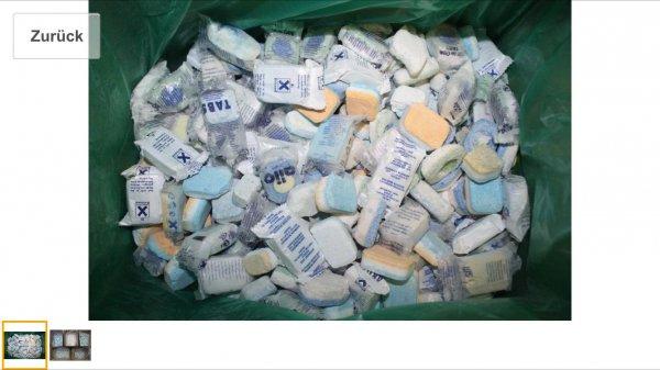 (Amazon)Spülmaschinen Tabs bruchware, discountertabs 500 Wäschen/10kg für 14,99€