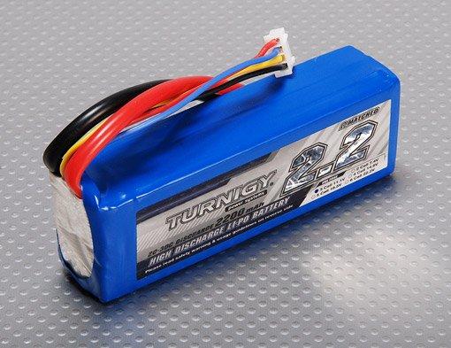 Hobbyking Turnigy 2200mAh 11,1v, 3S 20C Lipo  (EU Warehouse)