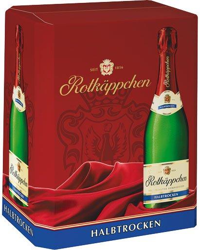 Rotkäppchen Sekt 6x 0,75 L für 15,00 Euro von Kaufland