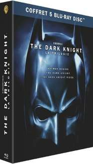 ABGELAUFEN Batman Dark Knight Trilogie Blu Ray [amazon.fr]