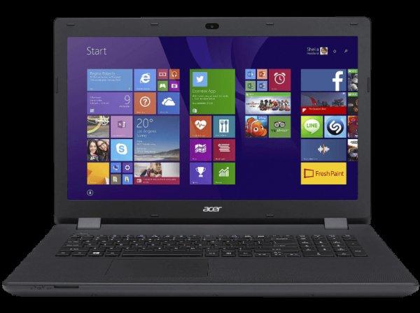 "[MediaMarkt Redsale] Acer ES1 17,3"" HD+ LED - Pentium Quad-Core N3700 - 4GB - 1TB HDD @Cyber Monday"
