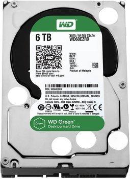 """[Allyouneed] Western Digital Caviar Green SATA III 6TB, Interne 3,5"""" Festplatte, WD recertified"""