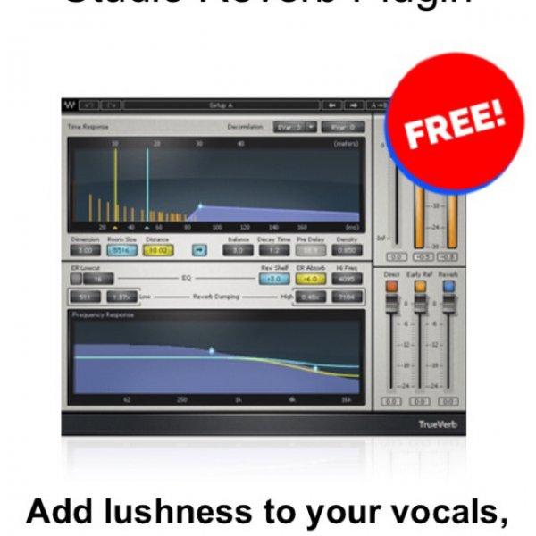 True Verb - Waves Plug ins kostenlos anstatt 99$ UVP