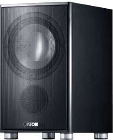 Canton AS 85.2 SC aktiver Subwoofer (200/250 Watt) schwarz (Stück) @BlackMonday