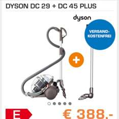 Dyson DC 29 + DC 45 @ Saturn.at