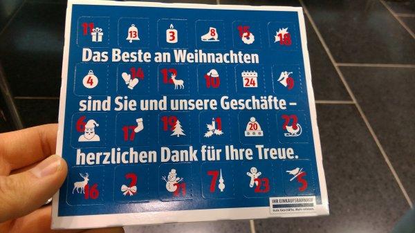 Kostenlose Adventskalender am Bochumer HBF