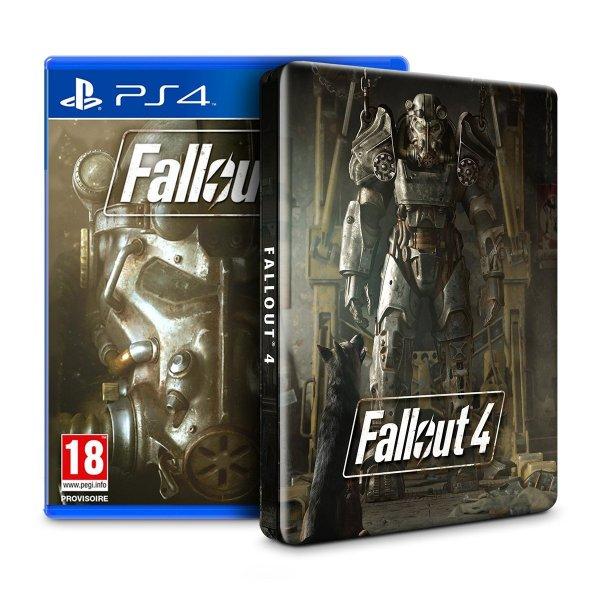@Cyber Monday Amazon.fr - Fallout 4 Steelbook Edition für PS4/XBO für 48,35 € - PVG 54,89 €