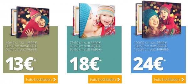 [MeinXXL] Mo+Di Bilderleinwanddeal Cyber Monday60*40->13€; 90*60->18€: 120*80->24€ jew. zzgl. 6,90Versand
