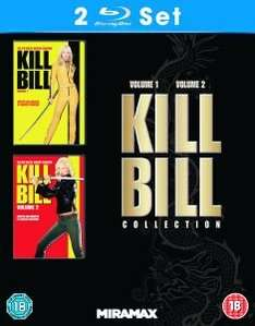 Kill Bill: Volume 1+2 [Blu-ray] für 10€ bei Zavvi.de Cyber Monday