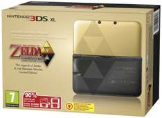 [Amazon] Nintendo 3DS XL Konsole Zelda A Link Between Worlds Limited Edition Pack , ohne Netzteil